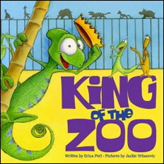 King of the Zoo, illustrated by Jackie Urbanovic